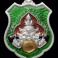 2560-平安拉胡天神-防小人最好的泰國佛牌